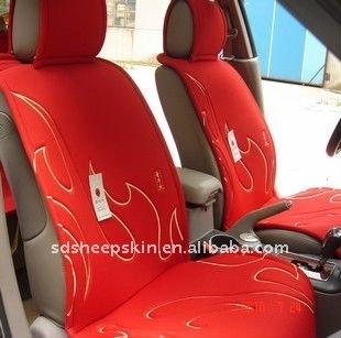 cotton all season car seat cover red color buy all season car seat cover read car seat. Black Bedroom Furniture Sets. Home Design Ideas