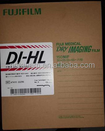 Japan DI-HL (blue base) Fuji medical dry imaging film 14*17 in. 35*43 cm 100 sheets medical x-ray film