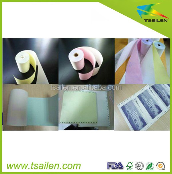 Hot Sale Eco-friendly 50gsm 2ply NCR Printing Paper