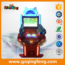 New frozen heroes shooting coin operated game consoles children's playground video game equipment