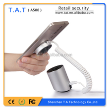 Retail security solutions provider cell phone anti-theft mobile display holders retail security alarm