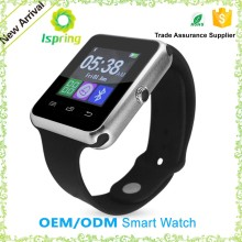 Cheap bluetooth watch for iPhone, TFT lcd s1 u8 smart watch, touch screen watch mobile phone