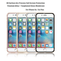 Prefect Fit Full Size 9H Titanium alloy Anti Blue Light Tempered glass screen protector for iPhone 6s & 6s Plus Mobile accessory