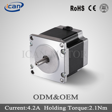 Customized double shaft non-captive linear 57hs76-2804 stepper motor