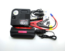 12000mAh Multi-function Car Jump Starter Portable Car Battery Charger with Air Compressor