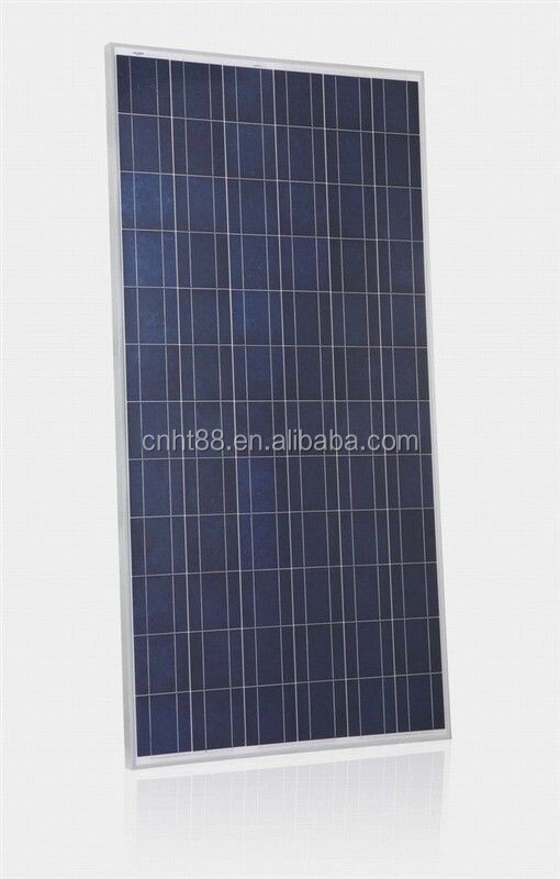 150w poly home solar panel with CE Rohs