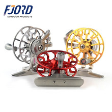 FJORD 55mm Chinese all metal ultra light front tyre relief force right handle ice winter fly fishing reel