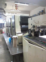 mitsubishi 3F offset printing machine 4 color