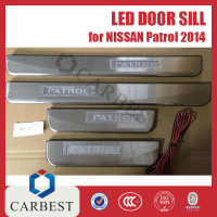 High Quality LED Door Sill for Nissan Patrol 2014