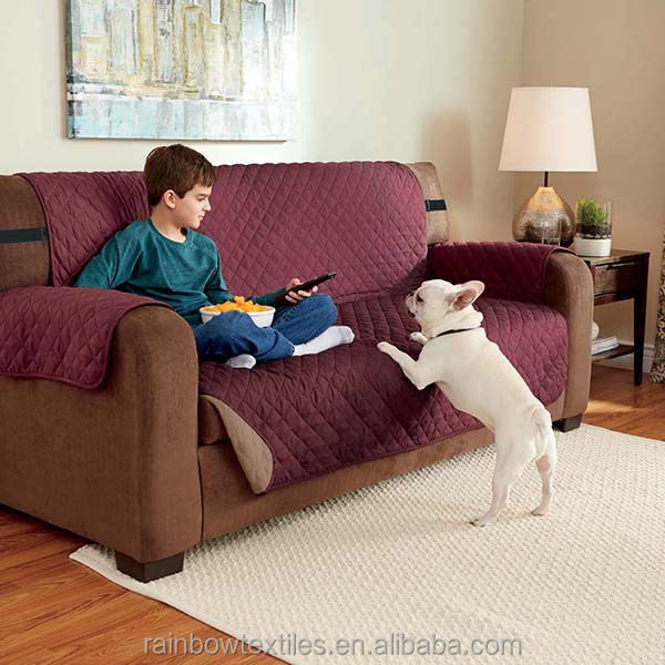 Living Room Sofa Cover With Non slip Fabric Buy Sofa