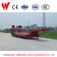Widely Used Customized Lowbed Semi Trailer