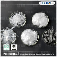 Concrete fiber microfilament monofilament twisted waved microfiber PP Polypropylene Fiber for Concrete