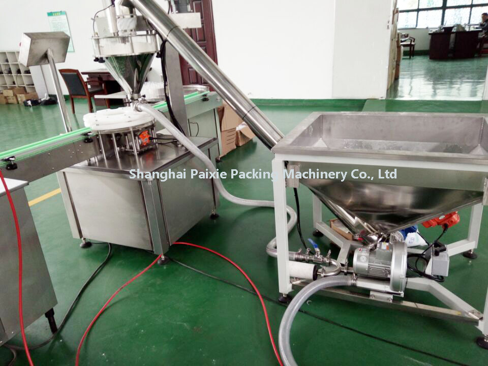 Pneumatic Driven Type Sugar Granules Powder Filling Machine With CE Certificate In China