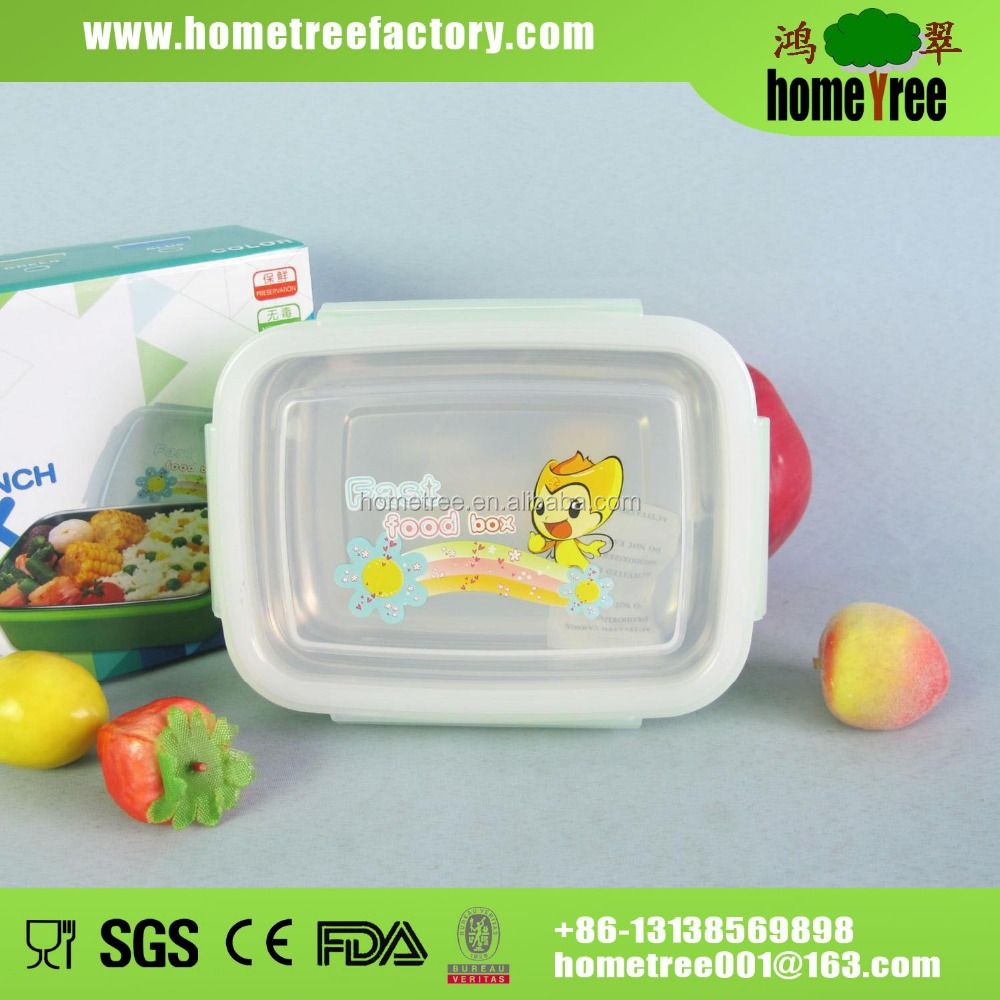 304SS waterproof 2 layer vacuum tiffin bento round stainless steel Lunch box