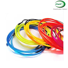 best quality el wire for car colth vessel decoration with inverter and power supply