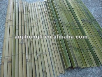 Natural Green Bambooo Slat Fence for home and garden decoration