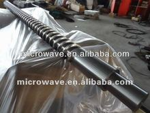 Single extruder screw barrel for pe gas pipe extrusion line