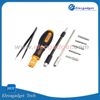 JAKEMY JM-8127 Magnetic Interchangeable 53 in 1 Multipurpose Precision Screwdriver Set Repair Tools for Cellphone PC