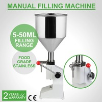 Liquid Filling Machine Manual 5ml To