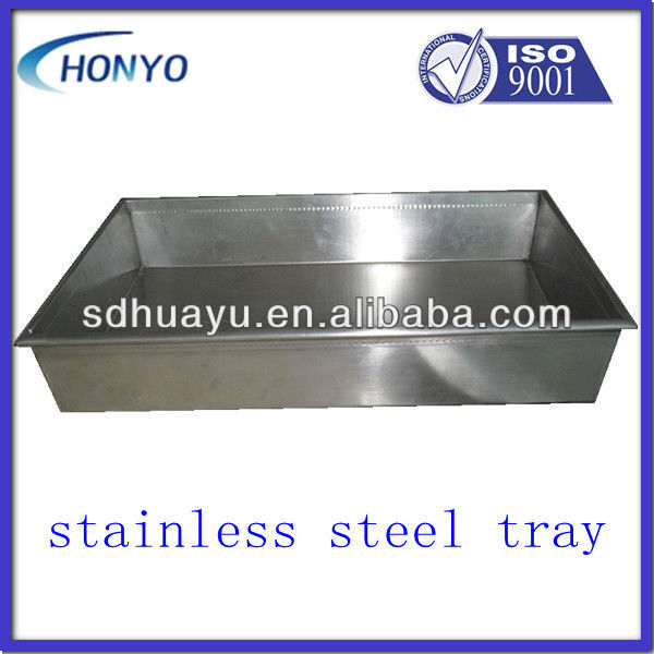 HOT stainless steel serving tray
