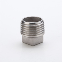 Stainless Steel 304 Pipe Threaded Square