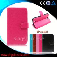 wholesale cell phone cover wallet with card slots stand flip case for OPPO NEO5