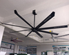 BIG PALM 12ft Gearless BLDC Motor Silent Large Ceiling Fan for commercial use