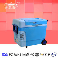 cooling and heating wheel portable ice cooler box