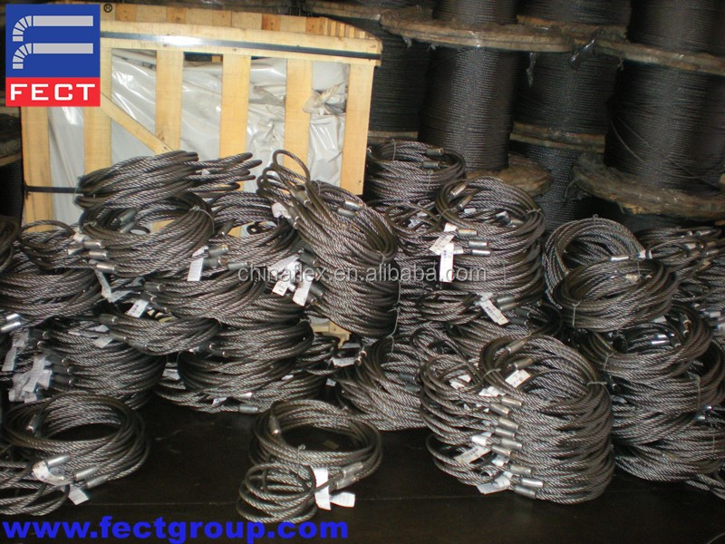 Splice Steel Wire Rope Splicing Tools Slings For Lifting With Cranes
