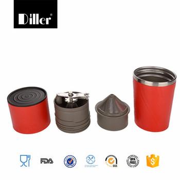 wholesalers bpa free portable coffee maker stainless steel tumbler