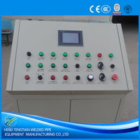 Tube mill production line solid state welder