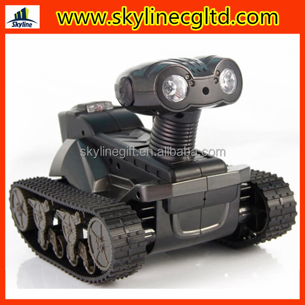 Simulation Tank with camera Spy light Tank WiFi Toys with Eavesdrop function