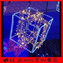 led christmas decoration Bright Gift Box Rope Light,Round 2 Wires Led Rope Light Corporate Gifts 2013