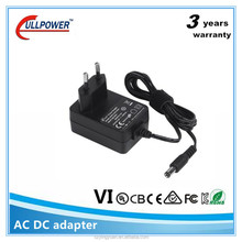 Wall mount adapter 21v 500ma ac/dc adapter Power Supply UL SAA BS CE CB