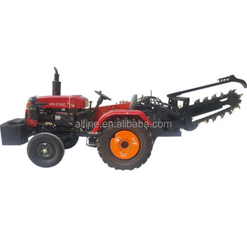 CE certificated good quality trencher tractor sale