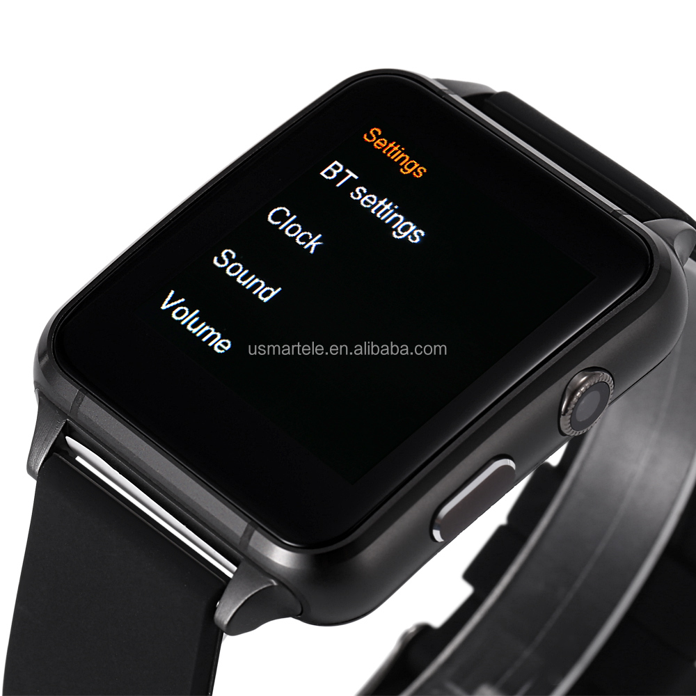 New design M88 Factory wholesale cheap smartwatch 2016 watch heart rate 2016 MTK2502 2G bluetooth watch phone with camera