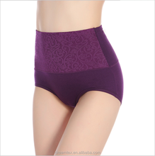 Sexy hot sell woman panty high waist high quality panty cotton lady <strong>underwear</strong>