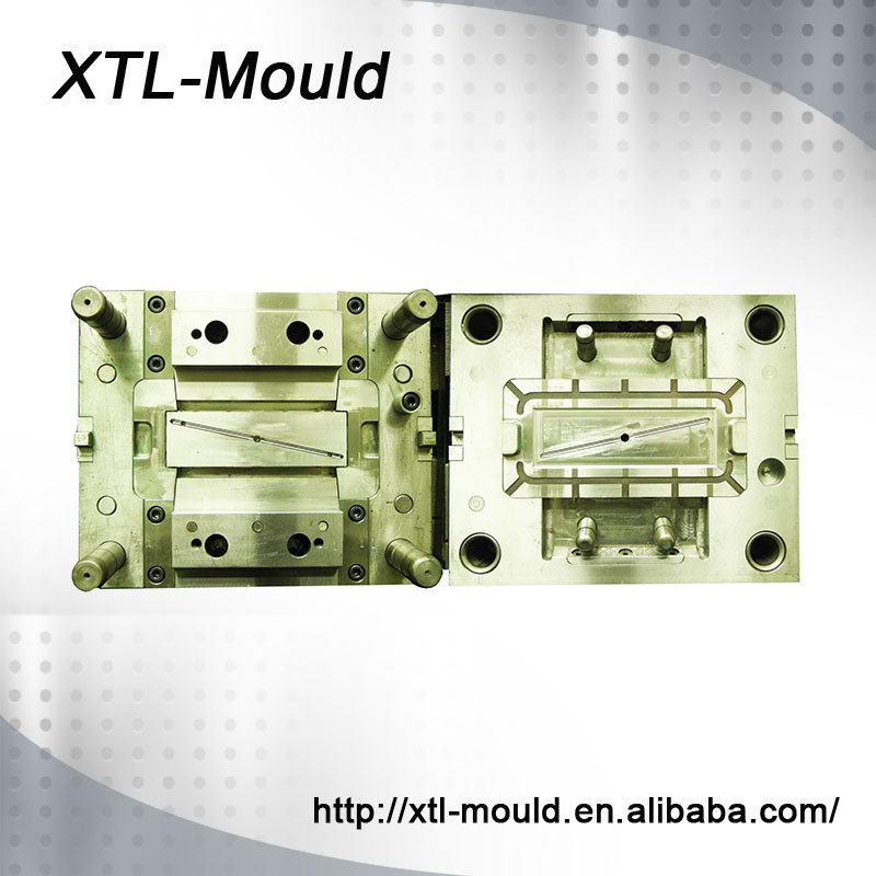 718 Mould Material Provide Surface Treatment Plastic Injection Gear Mould