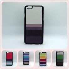 5 Colors Available Cross Stripe Case for iphone 6 CUSTOM DESIGN COLOR PINTING PLASTIC Phone Case