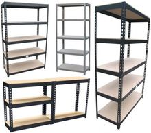 5 tier <span class=keywords><strong>scaffalature</strong></span> in metallo cromato <span class=keywords><strong>per</strong></span> <span class=keywords><strong>garage</strong></span>
