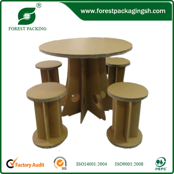 2015 New Design Recycled environmental paper desks and chairs