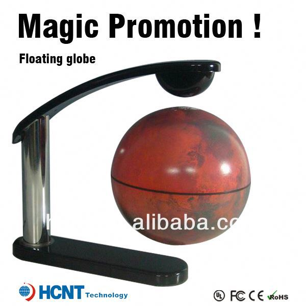 New invention ! Magetic Levitation globe for educational toys ! toy cd player