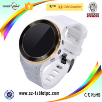 2016 Round screen wifi android 5.1 3G sim watch smart watch phone