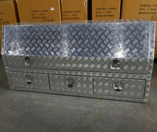 Waterproof Aluminium Truck Toolbox With Drawers BH-X1485382SCT