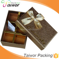 high end packing carton chocolate box with specification