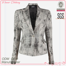Hot style long sleeve jacket in new model