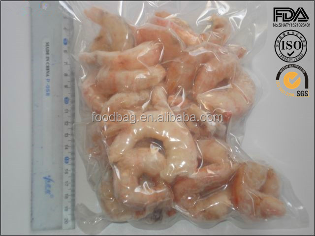 plastic frozen food packaging bag,sea food,frozen fish/shrimp and plastic bag