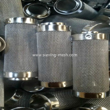 Aquarium Stainless Steel Mesh Fish Shrimp Fry Filter Guard 15mm Factory, Ss Filter Mesh Baskets For Fish Manufacturers