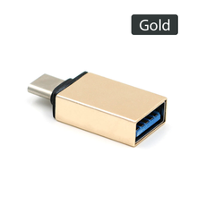 OTG USB Type C Type-C Male To USB 3.0 Female Adapter Converter Connector for MacBook Tablets for Oneplus 3 for XIAOMI