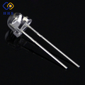 high brightness through hole straw hat 5mm red yellow blue green light led diodes for signs